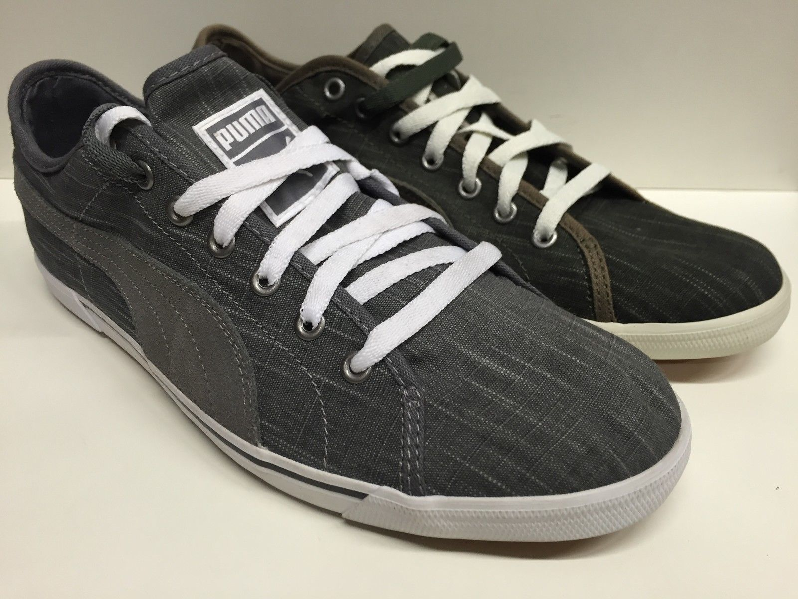 SCARPE SNEAKERS UOMO PUMA ORIGINAL BENECIO DRILL 352729 TELA SHOES MAN SCARPETTE