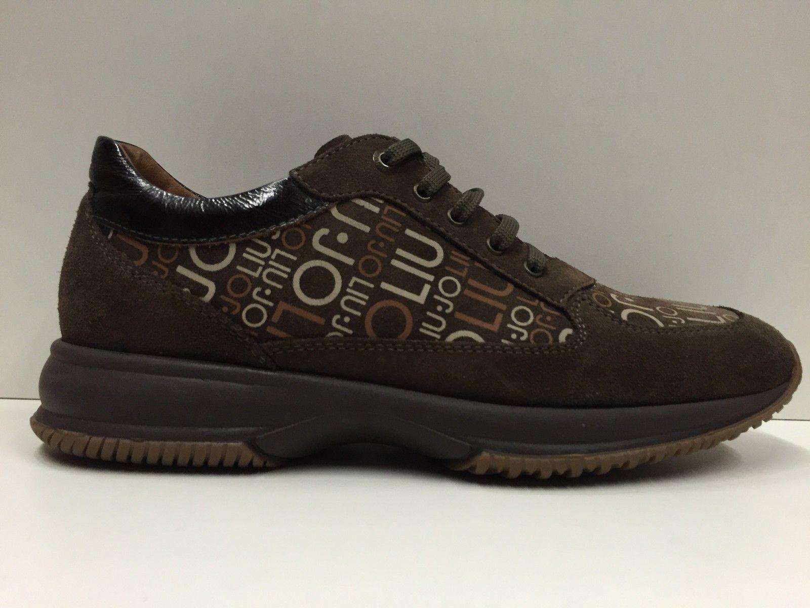 SCARPE CASUAL PELLE DONNA LIU JO ORIGINALI FUB1687 PELLE CASUAL scarpe Pelle   c74984