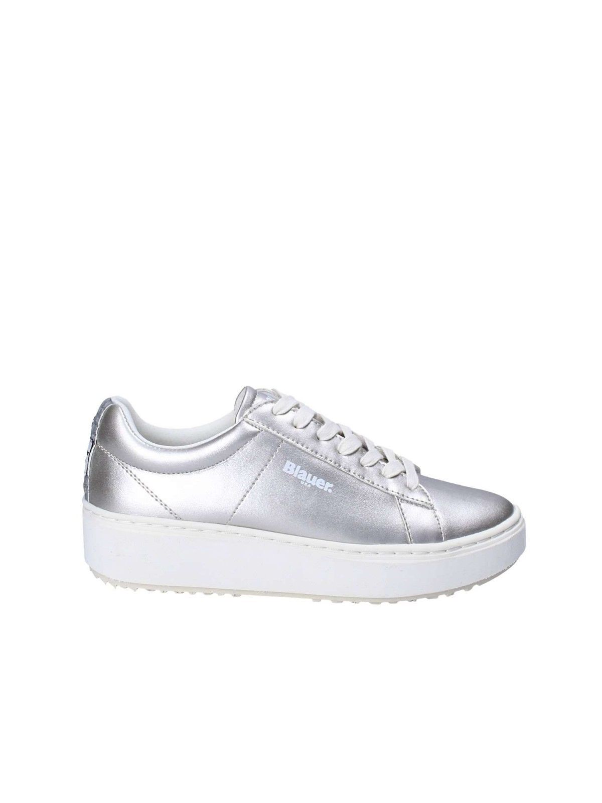 SCARPE SNEAKERS CASUAL DONNA BLAUER ORIGINALE 8SMELLS01 PELLE P/E 2018 NEW