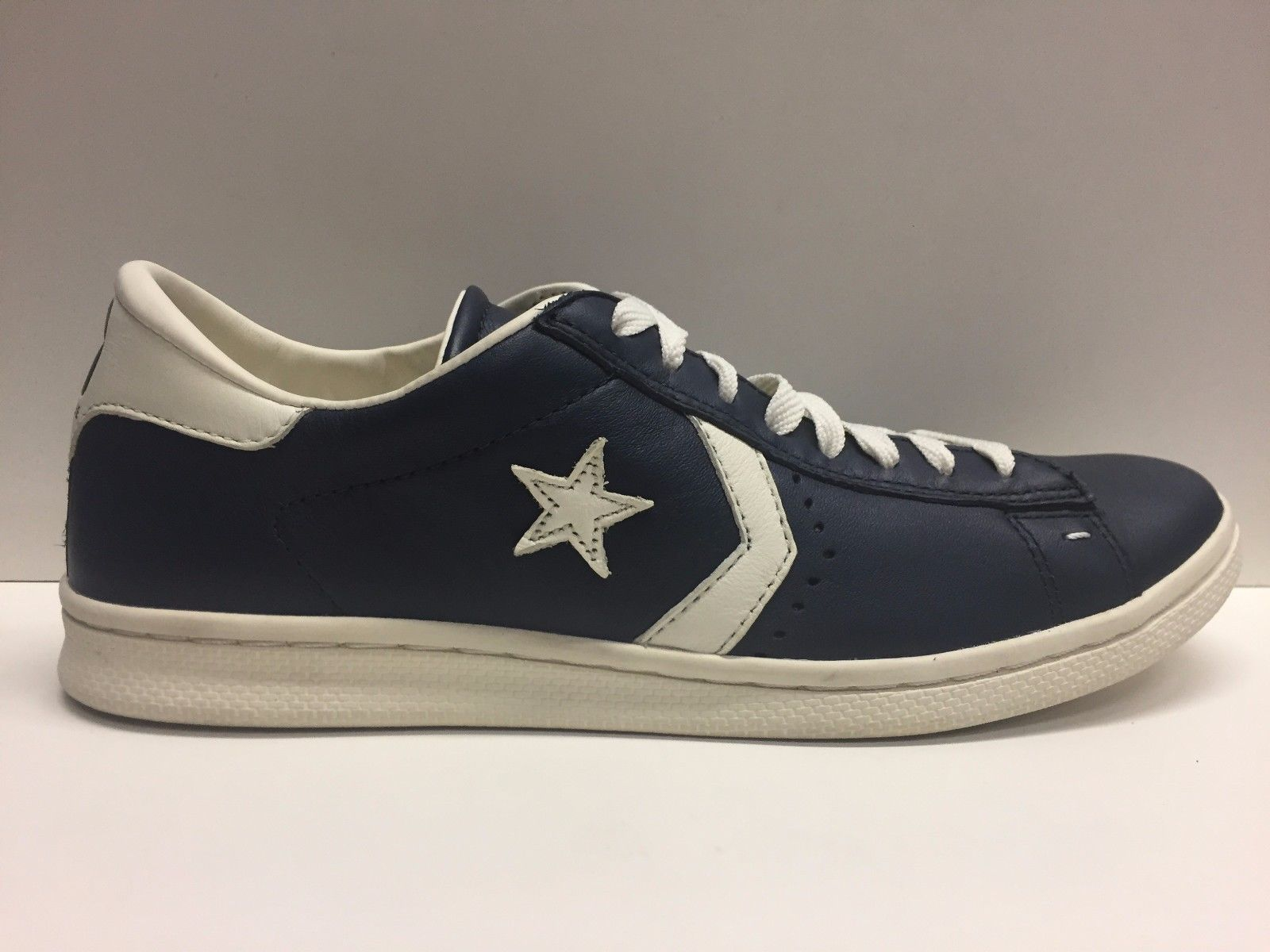 SCARPE SNEAKERS DONNA UOMO CONVERSE ALL STAR ORIGINAL PRO LP OX 123223 PELLE A/I