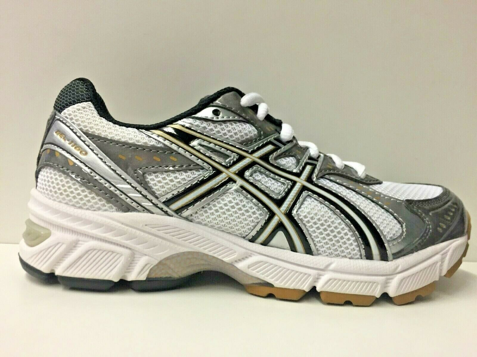 SCARPE SNEAKERS DONNA ASICS ORIGINALE GEL 1160 GS C038N PELLE P/E NEW