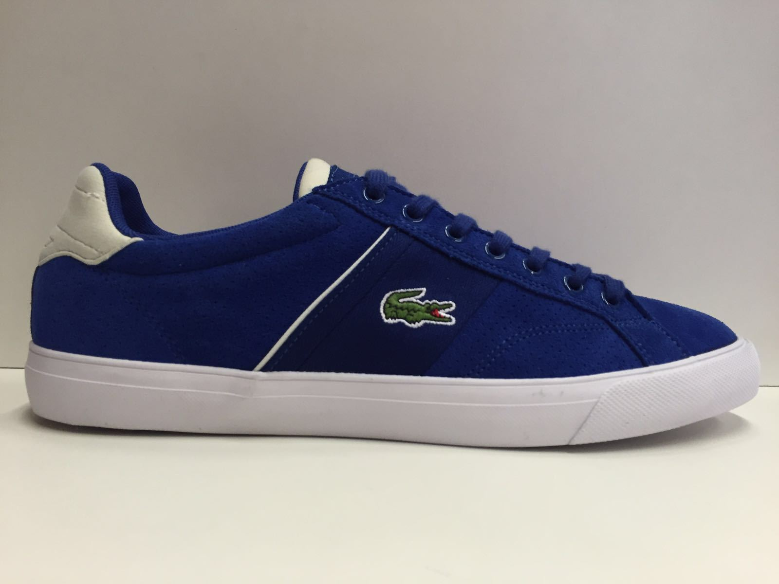 SCARPE SNEAKERS LACOSTE ORIGINALI FAIRLEAD 7-31SPM0015125 PELLE SHOES UNISEX NEW