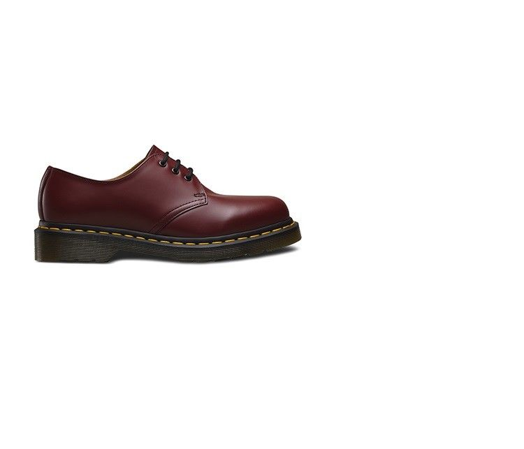 SCARPE CASUAL DONNA UOMO DR MARTENS ORIGINALE 146159 1461 A/I PELLE SHOES NEW
