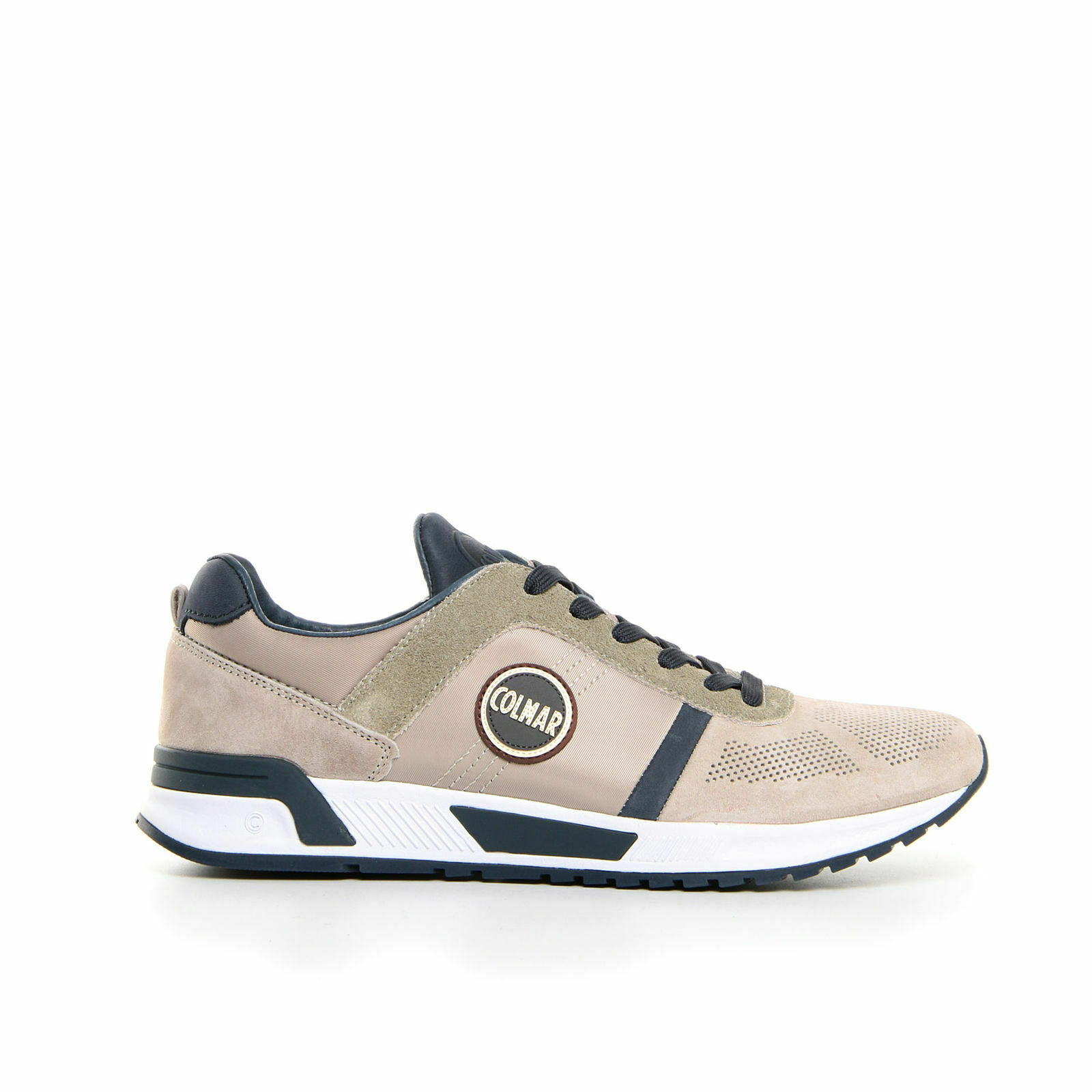 SCARPE SNEAKERS UOMO COLMAR ORIGINALE TRAVIS EVOLUTION 021 PELLE A/I 2018/19 NEW