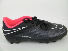 SCARPE CALCIO JUNIOR NIKE ORIGINALE 38 HYPERVENOM ERBA SINTETICA SHOES SPORT NEW