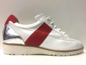 SCARPE SNEAKERS CASUAL DONNA TRUMAN S ORIGINALE 8555 PELLE PE NEW