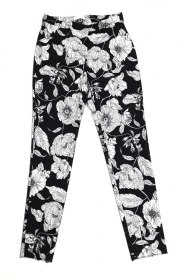 PANTALONE DONNA DIANA GALLESI P202R0336U GRAPHIC FLOWERS 01 ORIGINALE PE 2019