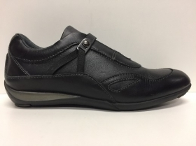 SCARPE CASUAL DONNA SAMSONITE ORIGINALI RACER W54MT6 PELLE VITELLO NERO