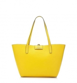 BORSA BORSE DONNA GUESS BOBBI HWEU6422230 EU642223 SUN MULTI GIALLO PE NEW