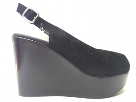 SCARPE SANDALO CASUAL DONNA FRAU LIGHT SOLE 89A185 PELLE ORIGINALE PE NEW