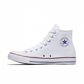 SCARPE SNEAKERS ALTE UOMO DONNA CONVERSE ALL STAR HI M7650C OPTICAL WHITE PE