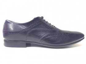 SCARPE CASUAL UOMO ALBERTO GUARDIANI GU76006 THE DARK MM78 PELLE ORIGINALE PE