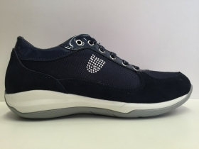 SCARPE SNEAKERS DONNA SWISSIES BRUGES II 4067238 441 BLU NAVY PELLE SHOES