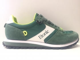 SCARPE SNEAKERS ETONIC ET823161 SALESMAN SAMPLE 05 PELLE ORIGINALE PE NEW