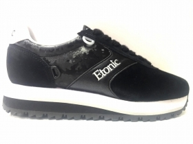 SCARPE SNEAKERS DONNA ETONIC ET823182 SALESMAN SAMPLE 02 PELLE ORIGINALE AI NEW
