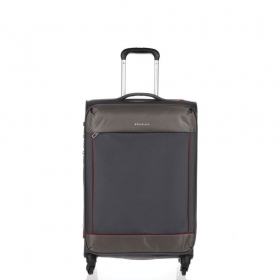 BORSA VALIGIA TROLLEY MEDIO DA VIAGGIO 4 RUOTE RONCATO CONNECTION 414162 ECRU