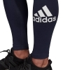 PANTALONE LEGGINGS TUTA DONNA ADIDAS W MH BOS TIGHT DP2407 COTONE ORIGINALE PE