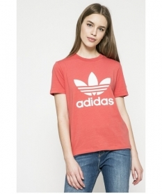 MAGLIA MAGLIE T SHIRT DONNA ADIDAS TREFOIL TEE CV9890 COTONE PE NEW