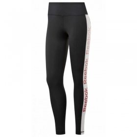 PANTALONE LEGGINGS DONNA REEBOK LINEAR LOGO TIGHT EK1361 ORIGINALE PE NEW