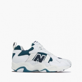 SCARPE SNEAKERS UOMO NEW BALANCE ML650WNV 650 PELLE ORIGINALE AI NEW