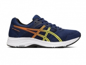 SCARPE SNEAKERS ASICS UOMO GEL CONTEND 5 1011A256 405 RUNNING ORIGINAL NEW