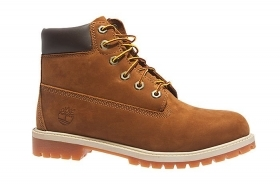 SCARPE SNEAKERS JUNIOR TIMBERLAND 6 IN PREMIUM 14949 PELLE RUST ORIGINAL AI NEW