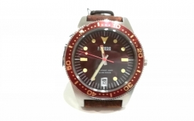 OROLOGIO UOMO FONDERIA P 6A013UMM THE CAPTAIN QUARZO PELLE MARRONE ORIGINALE