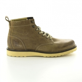 SCARPE CASUAL UOMO JACK E JONES 12062169 PEPPER JI CORE PELLE GOLDEN ORIGINAL AI