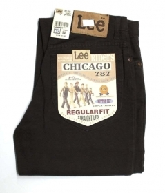 PANTALONE JEANS UOMO LEE CHICAGO 787 3409 44200 1819 COTONE ORIGINALE PE NEW