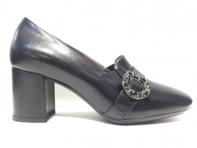 SCARPE DECOLTE DONNA ENVAL SOFT 4297100 PELLE NERO ORIGINALE AI 2020 NEW