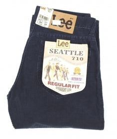 PANTALONE JEANS UOMO LEE 710 5840 SEATTLE 58 COTONE ORIGINALE AI NEW