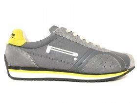 SCARPE SNEAKERS CASUAL UOMO PIRELLI PADDY 07 PELLE ORIGINALE PE NEW
