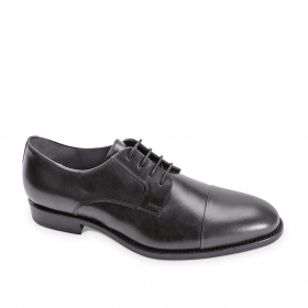 SCARPE CASUAL DERBY UOMO VALLEVERDE 46802 PELLE NERO ORIGINALE PE 2020 NEW
