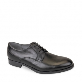 SCARPE CASUAL DERBY UOMO VALLEVERDE 46805 PELLE NERO ORIGINALE PE 2020 NEW