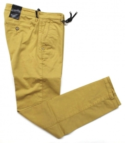 PANTALONE UOMO 0 ZERO CONSTRUCTION BEDDY 1SP SW 4134 GIALLO ORIGINALE PE 2020