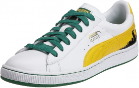SCARPE SNEAKERS UOMO PUMA 345236 BASKET 70 S CHAMPS 02 PELLE ORIGINALE AI NEW