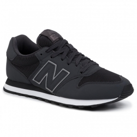 SCARPE SNEAKERS UOMO NEW BALANCE GM500TRX ECO PELLE NERO ORIGINALE PE 2020 NEW