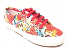 SCARPE SNEAKERS DONNA SUPERGA 2750 FANTASY COTU S001W00 C50 ORIGINALE PE NEW
