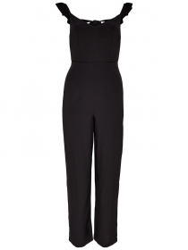 TUTA TUTE JUMPSUIT VESTITO DONNA ONLY 15141505 MONA NERO ORIGINALE PE NEW