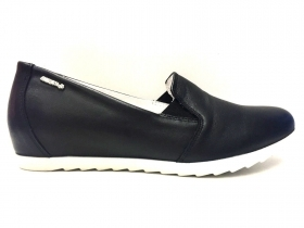 SCARPE CASUAL SLIP ON DONNA ENVAL SOFT 79180 PELLE NERO ORIGINALE PE