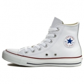 SCARPE ALTE CONVERSE ORIGINAL CT HI 132169C PELLE SHOES LEATHER SCARPETTE UNISEX