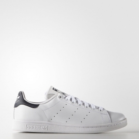 SCARPE ADIDAS ORIGINAL STAN SMITH M20325 BIANCO PELLE SHOES UNISEX SCARPETTE NEW