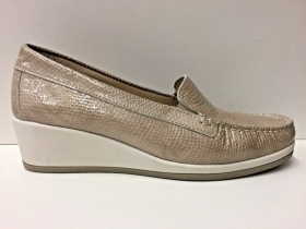 SCARPE MOCASSINO CASUAL DONNA CINZIA SOFT ORIGINAL PELLE 12BIS P/E 2018 NEW