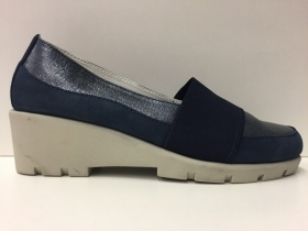 SCARPE MOCASSINO CASUAL DONNA CINZIA SOFT ORIGINALE 45BIS PELLE P/E 2018 NEW