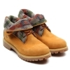 SCARPE SCARPONE CASUAL UOMO TIMBERLAND ORIGINAL AFROLL TOP 6924R PELLE SHOES NEW