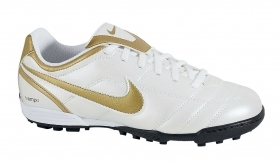 SCARPE SNEAKERS CALCIO NIKE ORIGINAL JUNIOR TIEMPO NATURAL II TF 317597 AI NEW