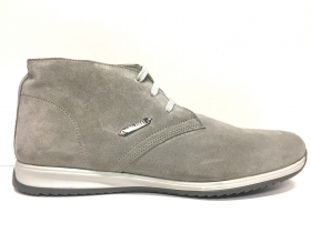 SCARPE POLACCHINO UOMO GINO TAGLI ORIGINAL 103 GREY PELLE SHOES LEATHER MAN P/E