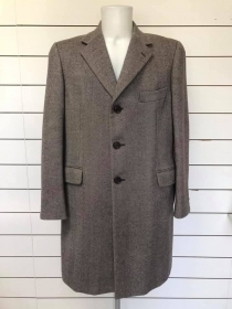 CAPPOTTO GIACCONE UOMO BURBERRY ORIGINALE 52 LANA CACHMERE JACKET WOOL MAN COAT