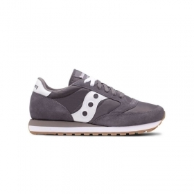 SCARPE SNEAKERS UOMO SAUCONY ORIGINAL JAZZ S2044 434 GRAY PELLE SHOES PE