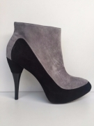 SCARPE TRONCHETTO DONNA CALVIN KLEIN ORIGINAL HOLLIS KID N10852 PELLE SCONTO NEW